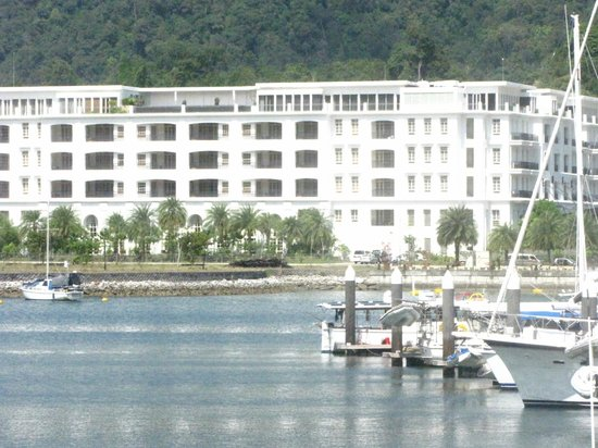 The Danna Langkawi, Malaysia:                   The Danna seen from the opposite site of the Marina