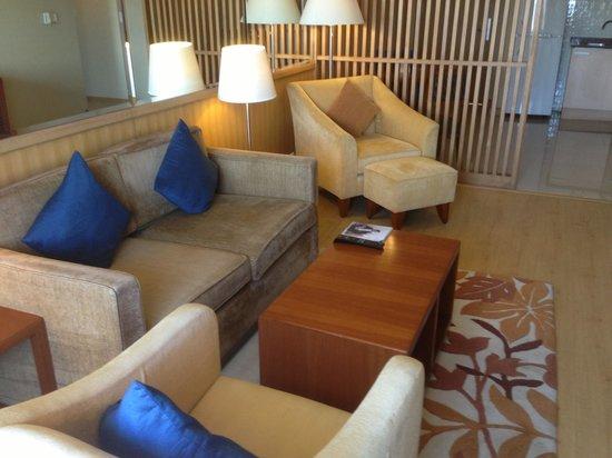 Ellaa Hotel :                   living area