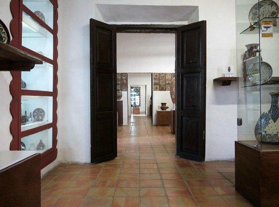 Ceramic Museum (Museo Regional de la Ceramica):                   展示室