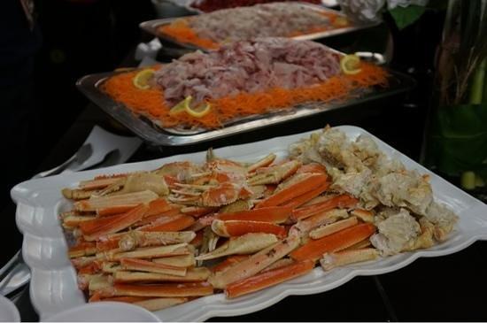 Kensington Resort Gyeongju Bomun:                   리조트에서 먹은 디너뷔페