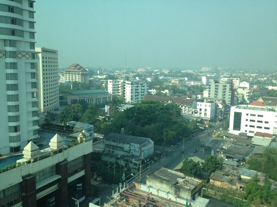 Le Meridien Chiang Mai:                   View from d