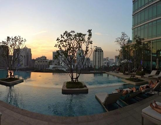 Sivatel Bangkok: the pool area - perfect time out