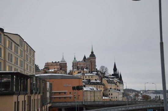 Hilton Stockholm Slussen: Hôtel côté Gammla Stan