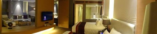 Sivatel Bangkok: panoramic of room