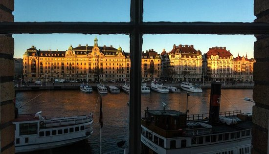 Radisson Blu Strand Hotel, Stockholm: View from my room (#207)