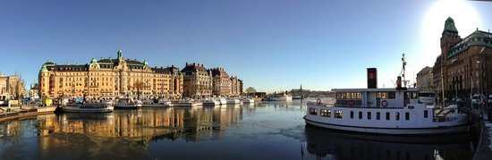 Radisson Blu Strand Hotel, Stockholm: Strand Hotel at the far right (with the tower)