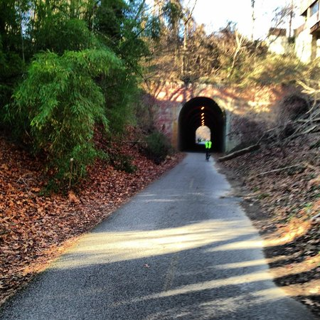 District of Columbia:                   Tunnel at capital crescent trail