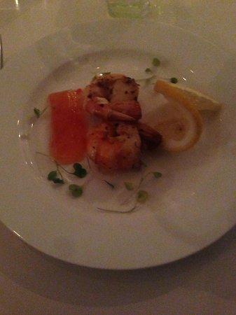 Cabra Verde Restaurant:                   Prawns for Starter