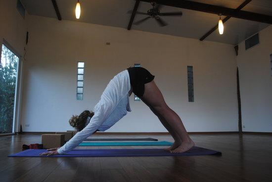 Semilla Verde Boutique Hotel: Yoga practice