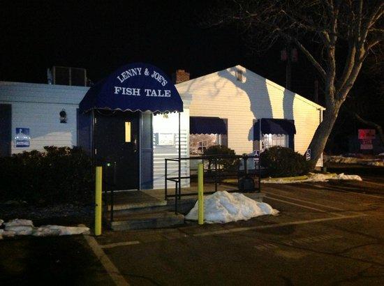 Lenny & Joe's Fish Tale:                   Outside the restaurant