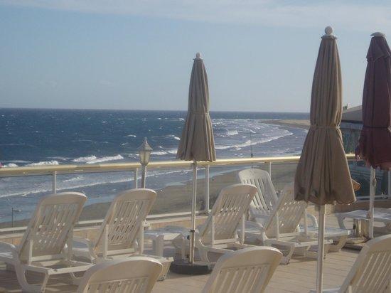 Atlantic Beach Club:                   view from the sunbathing area