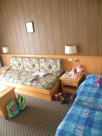 Hotel Miramonti :                   camera di Emma