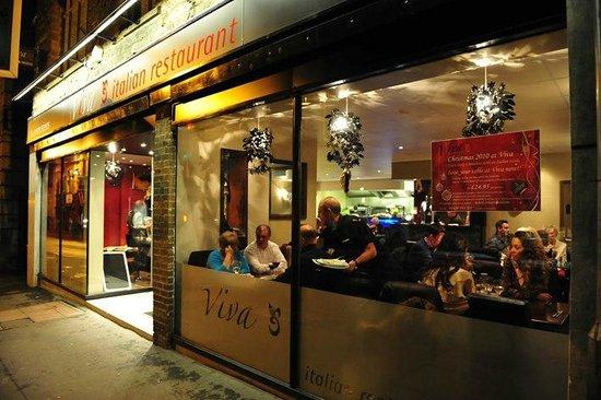 Viva Italian : Viva Restaurant Dale Road Matlock