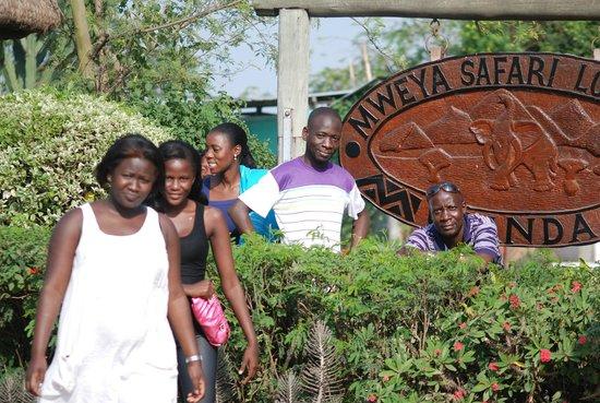 Simba Safari Camp:                                     Ready to go for Lake drive