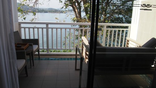 Cape Panwa Hotel:                   Our balcony