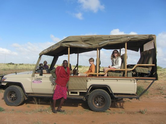 Porini Amboseli Camp:                   Great safari jeep