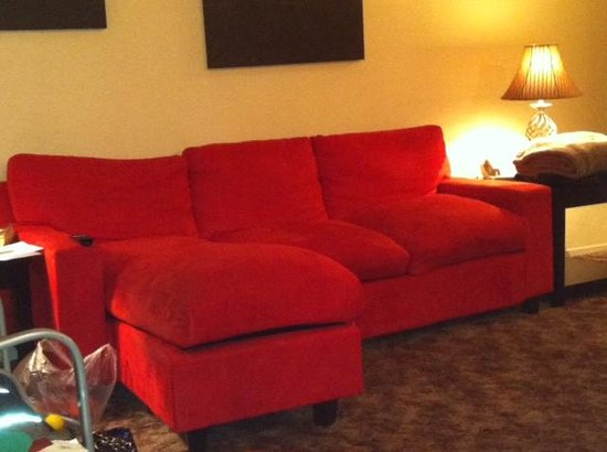 Holiday Royale Apartment Suites:                   Terrible sofa