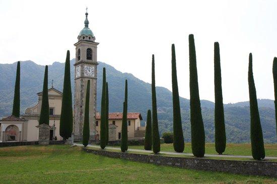 Grotto Flora B&B: En chemin entre Lugano et Bigogno