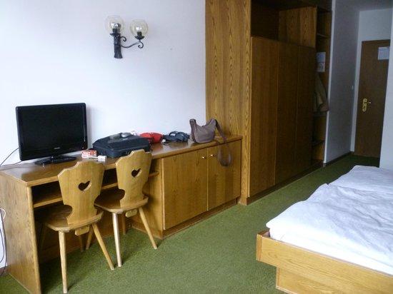 Hotel Firn: Camera spaziosa e confortevole