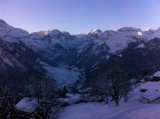 Maerchenhotel Bellevue: View from our room