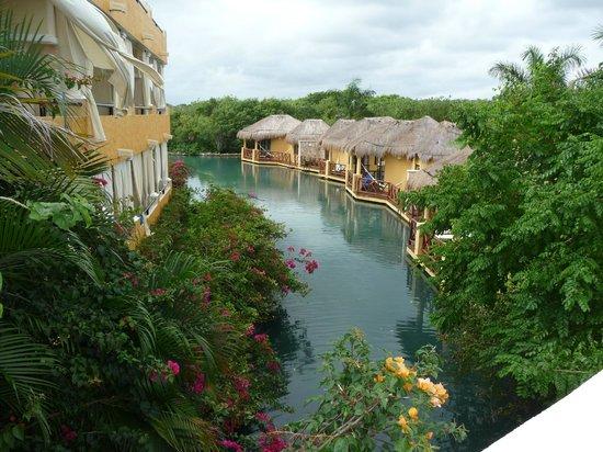 TRS Yucatan Hotel:                                     Mayan suites.