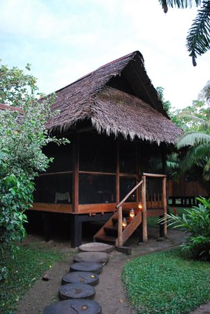 Inkaterra Reserva Amazonica:                   La cabana