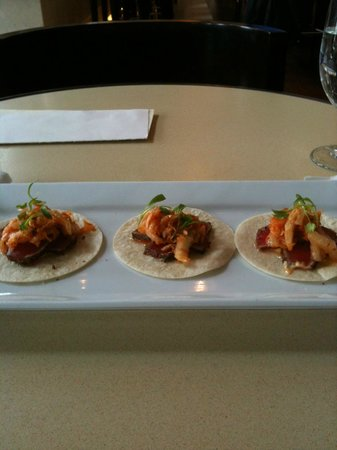 Boston Marriott Long Wharf: Ahi Tacos
