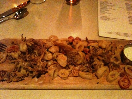 Boston Marriott Long Wharf: Calamari