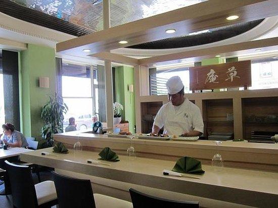Sushi Bar at Sauan