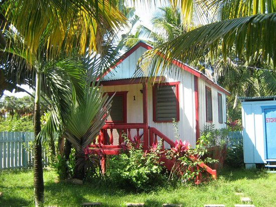 Garden Cabanas:                   little red cabana