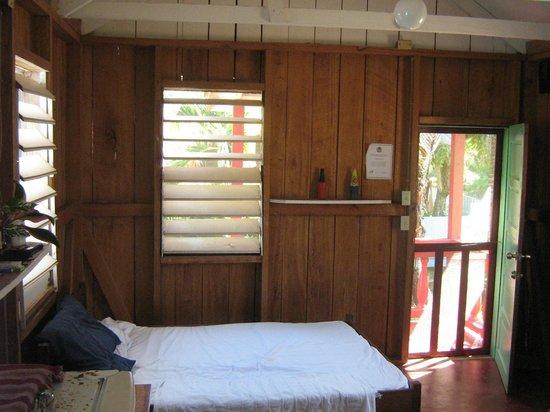 Garden Cabanas:                   inside view a
