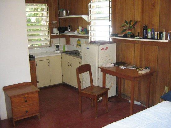 Garden Cabanas:                   inside view b