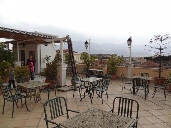 Hotel Amleto:                   On the terrace