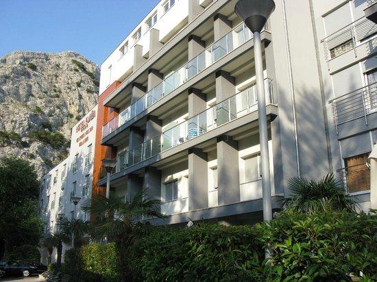 Hotel Plaza Omis: Hotel Plaža