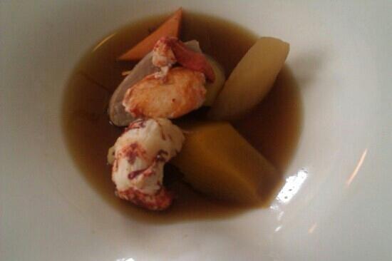 La Rotonde :                   menu homard