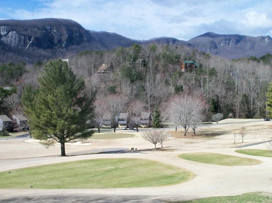 Wyndham Resort at Fairfield Mountains:                   View from the balcony. Overlooks the golf course also.