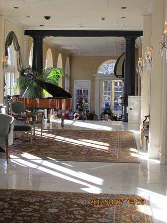 Omni Royal Orleans:                   This is the lobby....what else can I say?