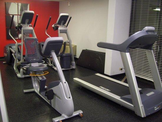 Radisson Hotel Chicago O'Hare: gym