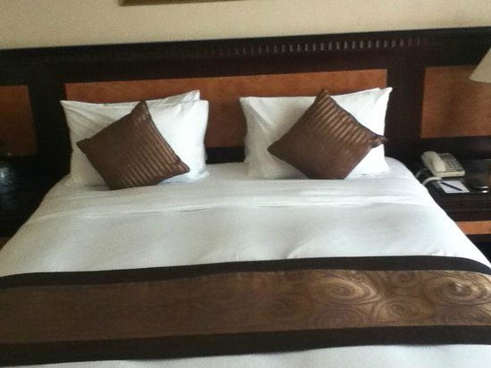 Hilton Sharjah:                   Comfortable bed