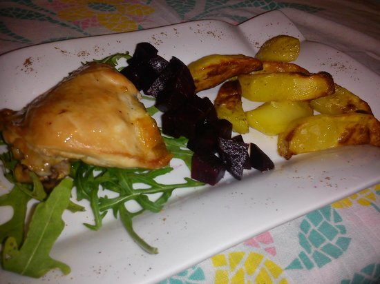 Cavallinos Restaurant:                                     Cavallino's food