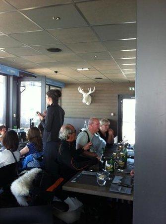 SIGNAL 2108 :                   salle décoration moderne. le caribou est la