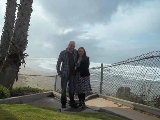 SeaCrest OceanFront Hotel: In the gardens
