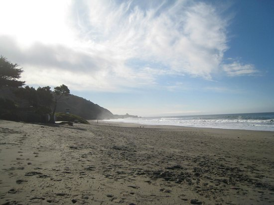 Sandpiper Inn:                   This beach is a short walk from the Inn.
