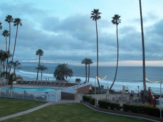 SeaCrest OceanFront Hotel: View from our veranda