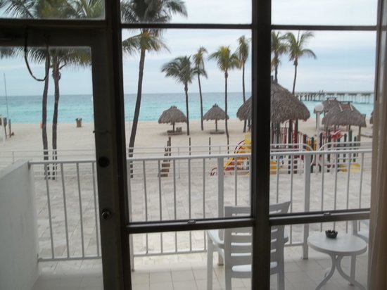 Newport Beachside Hotel and Resort:                   From inside of room view