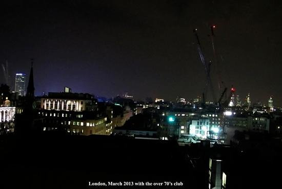 The Cavendish London:                   view from room 1111