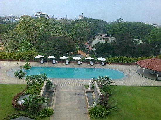 Vivanta by Taj - Trivandrum:                   View from 4th Floor, Lift Lobby
