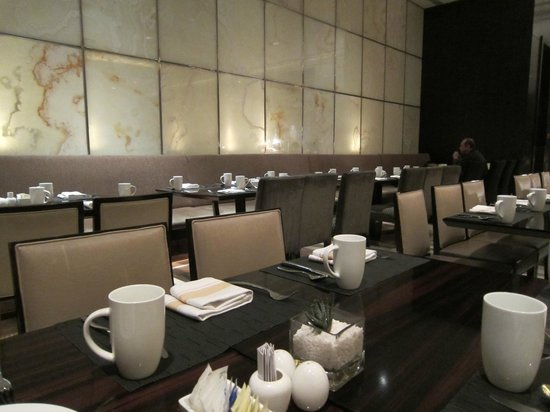 DoubleTree by Hilton Beijing:                   Restaurant on the ground floor.