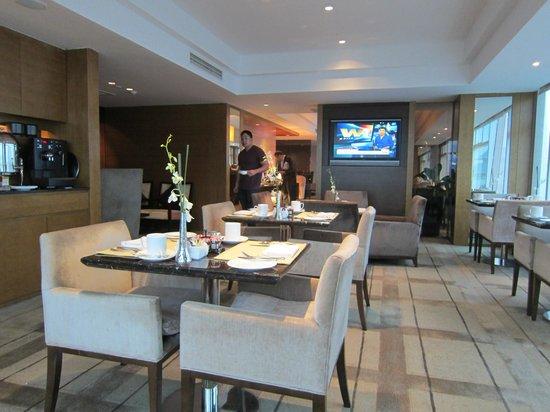 DoubleTree by Hilton Beijing:                   Executive lounge.