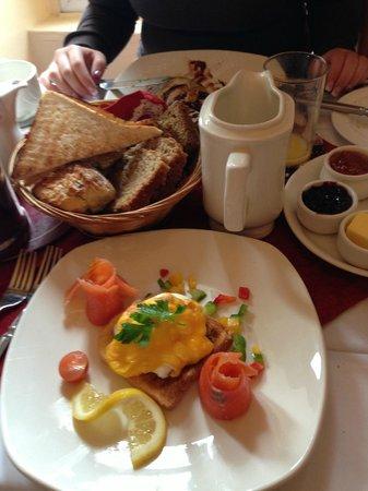 Garnish House:                   Petit déjeuner